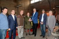 SANAYİ SİTESİ - 50 Yıllık Sanayi Esnafına Ödül