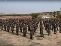PYD - ABD'nin eğittiği teröristler yemin töreninde!