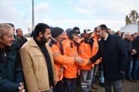 HALKLA İLIŞKILER - Aktaş, İnegöl Belediyesi Personeliyle Vedalaştı