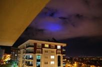 GÖKYÜZÜ - Aydın'da Esrarengiz Gökyüzü Olayı