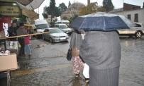 EGE DENIZI - Aydın'da Kuvvetli Yağış Etkisini Sürdürüyor