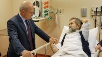 GEÇMİŞ OLSUN - Başkan Akgün Silahlı Saldırıya Uğrayan Gazeteci Tarakçı'yı Ziyaret Etti