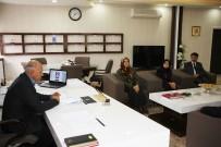 ERTUĞRUL ÇALIŞKAN - Başkan Çalışkan, Balkan Üçüncüsü Tekvandocuyu Kabul Etti