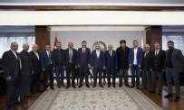 HALIT DEMIR - Başkan Çelik, MHP İl Başkanı Ersoy Ve MHP'nin Meclis Grubu İle Görüştü