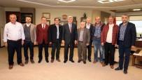 TÜRK DÜNYASI - Başkan Karaosmanoğlu STK'ları Ağırladı