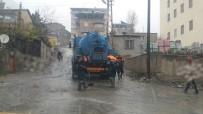KAR YIĞINLARI - Belediye Ekiplerinin Kış Mesaisi Başladı