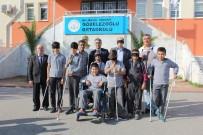 GÖRME ENGELLİ - Edremit'te Öğrenciler, Kısa Süreli Engelli Oldular