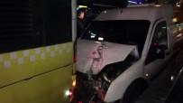 SÖĞÜTLÜÇEŞME - Hat Güvenliği Sağlayan Araç Metrobüse Arkadan Çarptı Açıklaması 1 Yaralı