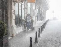 MARMARA DENIZI - İstanbul'a 20 saatlik yağış geliyor