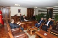 AHMET GÜNDOĞDU - Milletvekili Gündoğdu, Başkan Ercan'ı Ziyaret Etti