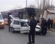 ZINCIRLIKUYU - Otobüsle Otomobil Çarpıştı, 1 Kişi Hayatını Kaybetti