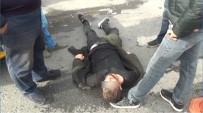TAKSIM - Taksim'de Uyuşturucu Maddenin Etkisindeki Genç Yere Yığıldı