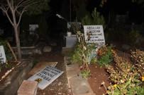 ŞEHIT - Sözde şehitlikteki mezar taşları değiştirildi