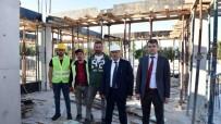 OTOBÜS TERMİNALİ - Taşköprü'de Şehirlerarası Otobüs Terminali İnşaatı Devam Ediyor