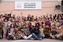 İBRAHIM KARAOSMANOĞLU - Uluslararası Öğrenciler Avluburun İlkokulu'nu Ziyaret Ettiler
