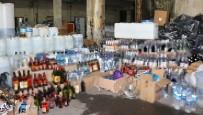 İSTANBUL EMNİYET MÜDÜRLÜĞÜ - İstanbul'da rekor sayıda sahte içki ele geçirildi