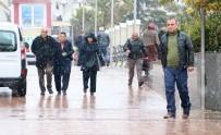 KAR KALINLIĞI - Aksaray'a Mevsimin İlk Karı Düştü