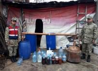KAÇAK - Amasya'da 1,5 Ton Sahte İçki Ele Geçirildi