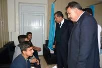 GEÇMİŞ OLSUN - Başkan Atilla'dan Yaralı Öğrencilere Ziyaret