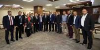TÜRK DÜNYASI - Başkan Karaosmanoğlu, KASKF Başkanını Konuk Etti