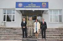 ŞEHİT AİLELERİ - Başkan Sözen Ve Kahraman'dan Komutanlara Ziyaret