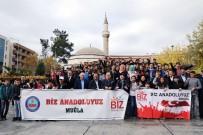 CANER YıLDıZ - Bingöllü Öğrenciler Menteşe'yi Gezdi