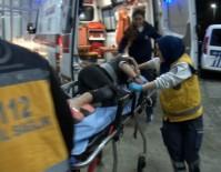 MERMİ - Eğlence Mekanına Yapılan Saldırıda Boynundan Yaralandı