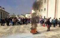 YANGIN TATBİKATI - Elmalı Devlet Hastanesi'nde Yangın Tatbikatı