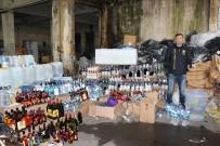 İSTANBUL EMNİYET MÜDÜRLÜĞÜ - Fatih'te 10 Ton Metil Alkol Ve 120 Bin Şişe Sahte İçki Ele Geçirildi