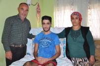 KÖK HÜCRE TEDAVİSİ - Hayatı 4 Duvar Arasına Sıkışan Genç Yardım Bekliyor