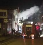 ISPARTA BELEDİYESİ - Isparta Yeni Sanayi Sitesi'nde İşyeri Yangını