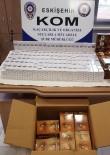 KAÇAK - Kahve Kutularına Gizlenmiş 600 Paket Kaçak Sigara Yakalandı