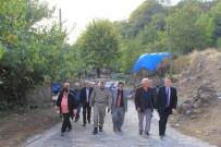 KANALİZASYON ÇALIŞMASI - Kaymakam Kapankaya Köylerdeki Çalışmaları İnceledi