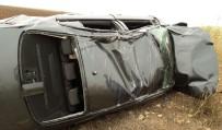Mardin'de Otomobil Takla Attı Açıklaması 1 Yaralı