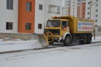 ERCIYES - Melikgazi'de Kar Temizleme Ekipleri Harekete Geçti