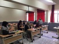 HALK EĞİTİM - Müdür Halil Akbulut Açıklaması Kurslarımızdaki Amaç Meslek Edindirmektir