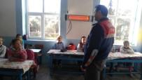 KARACAHISAR - Öğrenciler Trafik Kurallarını Jandarmadan Öğrendi