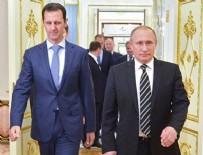 BEŞAR ESAD - Putin ile Esed Soçi'de bir araya geldi