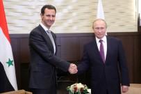 TELEFON GÖRÜŞMESİ - Putin Ve Esad Bir Araya Geldi