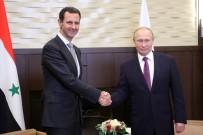 TELEFON GÖRÜŞMESİ - Putin Ve Esed Rusya'da Bir Araya Geldi