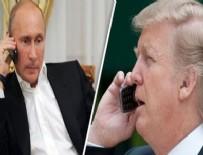 KUZEY KORE - Putin ve Trump'tan flaş telefon görüşmesi