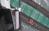 SAHİL GÜVENLİK - Rus Gemisindeki 6 Mürettebat Böyle Kurtarıldı