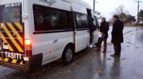 EMNIYET KEMERI - Sungurlu'da Servis Araçları Denetleniyor