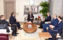 MAHMUT DEMIRTAŞ - Tarım Bakanlığı Heyetinden Vali Demirtaş'a Ziyaret