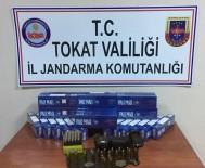 DEĞIRMENLI - Tokat'ta Tarihi Eser Ve Kaçak Sigara Operasyonu