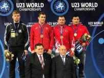 MUSA AYDıN - U23 Dünya Güreş Şampiyonası'nda 1 Altın 2 Bronz