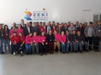 ANADOLU LİSESİ - Vali Güvençer, Engelli Gençlerin Çalışmalarını İnceledi