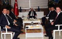 İÇIŞLERI BAKANLıĞı - Vali Ustaoğlu, İçişleri Bakanlığı Heyetini Ağırladı