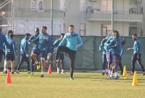 GRİBAL ENFEKSİYON - Alanyaspor, Galatasaray Maçının Hazırlıklarını Sürdürdü