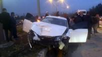 Başkan Gündoğan Trafik Kazası Geçirdi